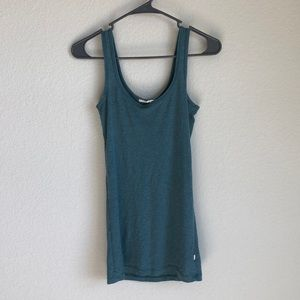 💲Subdued Sz M Teal Tank